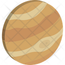 Astronomy Jupiter Planet Icon