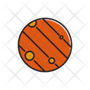 Space Earth Galaxy Icon