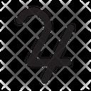 Jupiter Astrology Symbol Icon