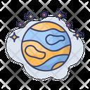Jupiter Galaxy Space Icon