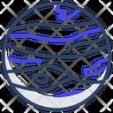 Jupiter Space Planet Icon