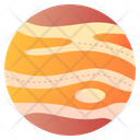 Jupiter Planet Galaxy Icon