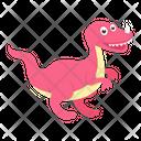 Jurassic Dinosaur Icon