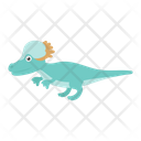 Jurassic Saurischian Dinosaur Icon