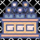 Judge Court Courthouse Icon
