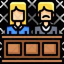 Jury Judicial System Man Icon