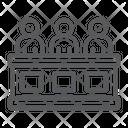 Jury Court Law Icon