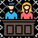 Jury Law Justice Icon