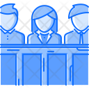 Jury Law Police Icon