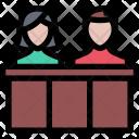 Jury Law Crime Icon