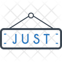 Just Tag Label Icon