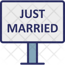 Celebration Just Married Marriage Icon