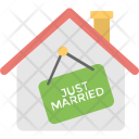 Just Married House Icon