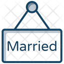 Just Married Banner Icon