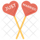 Just Married Props Decorative Props Couples Props Icon