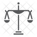 Justice Court Law Icon