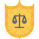 Shield Protection Law Icon