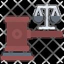 Judge Gavel Law Icon