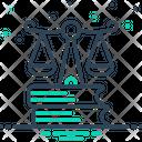 Justice Syllogism Rectitude Icon