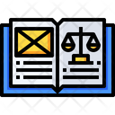 Justice Book Ethics Book Icon