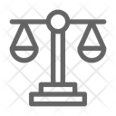 Justice Scale Law Icon
