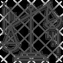 Justice Scale Judge Icon