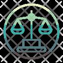 Justice Law Icon