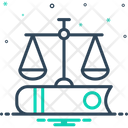 Justice Book Fairly Icon