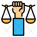 Justice Law Scale Icon