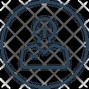 Justice Idea Court Icon
