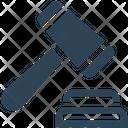 Judge Law Hammer Icon