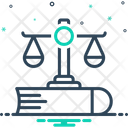 Justice Balance Equilibrium Icon