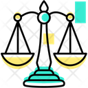 Balance Judge Scale Icon