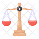 Justice Scale Justice Judiciary Icon