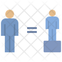 Justice Equality Fair Icon