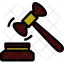 Line Outline Justice Icon