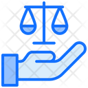 Justice Balance Scale Balance Icon
