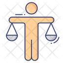 Justice Legal Scale Icon