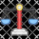Justice Law Symbol Balance Scale Icon