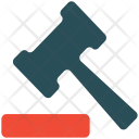 Justice Crime Gavel Icon