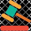Justice Law Mallet Icon