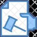 Justice Document Icon