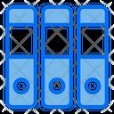 Justice File Binder Files Icon