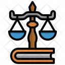 Justice Law Balance Scale Equal Icon
