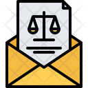 Justice letter Icon