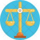 Protest Justice Weighing Scales Icon