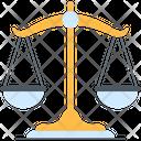 Justice Scale Balance Scale Balance Icon