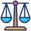 Justice Weight Scale Icon