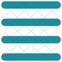 Interface Center Alignment Icon