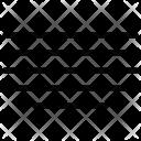 Justify Center Align Icon